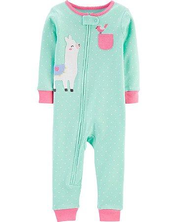 Pijama sem pé - Lhama