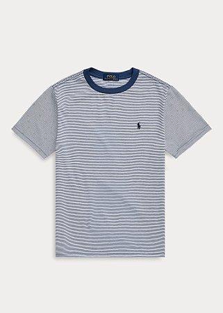 Camiseta Listrada Ralph Lauren - Azul Marinho