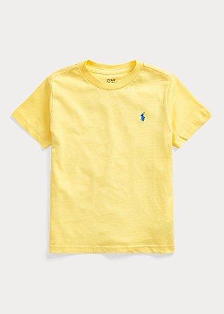 Camiseta Gola Redonda Amarela - Ralph Lauren