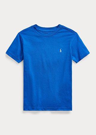 Camiseta Gola Redonda Azul Bic - Ralph Lauren
