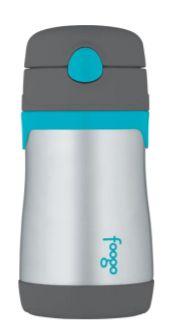 Garrafa Térmica Thermos Foogo - Cinza e Azul