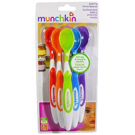 Colher Infantil com 6 Unidades - Munchkin