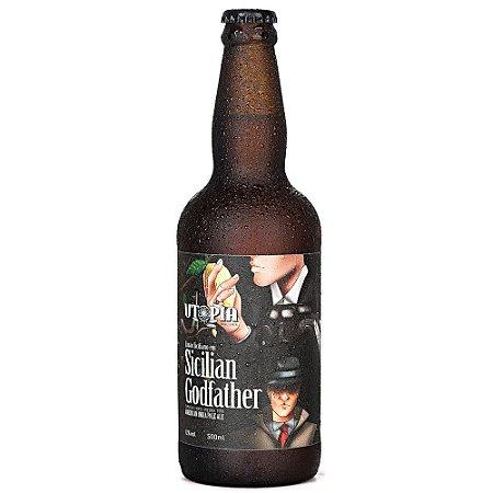 Cerveja IPA Utopia Sicilian Godfather com Limão Siciliano 500ml