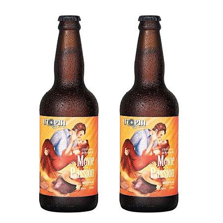 Kit 2 Cervejas Artesanais Utopia APA 500ml