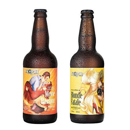 Kit 2 Cervejas Artesanais Utopia APA + APL 500ml