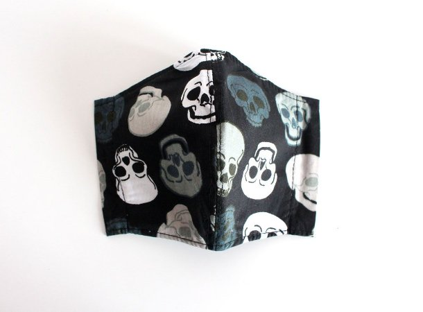 Máscara Infantil - Caveiras