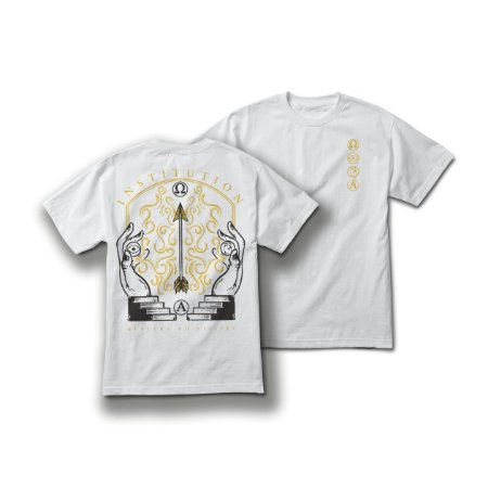 """Ruptura do Visível"" Camiseta Branca"