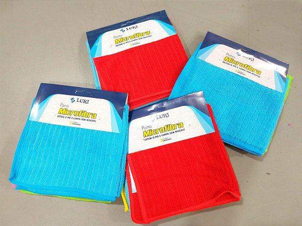 Kit Microfibra 100% Poliéster 28x28cm - Luri