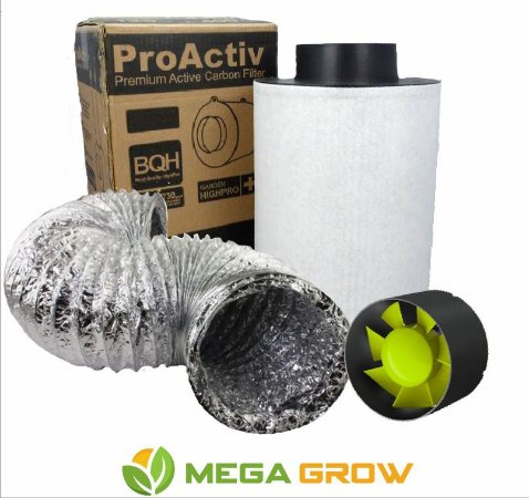 Kit Exaustão Grow - Cultivo Indoor