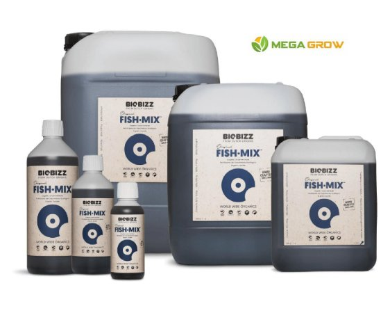 Fertilizante Orgânico BioBizz - Fish Mix