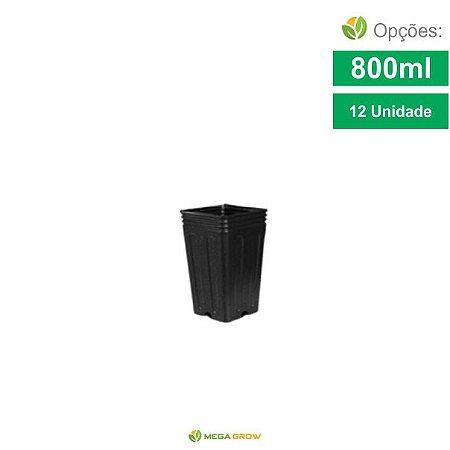 Kit 12 Vaso - Don't Stop - 800ml