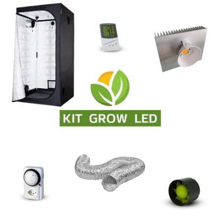Kit Cultivo Indoor Iniciante LED COB GROW