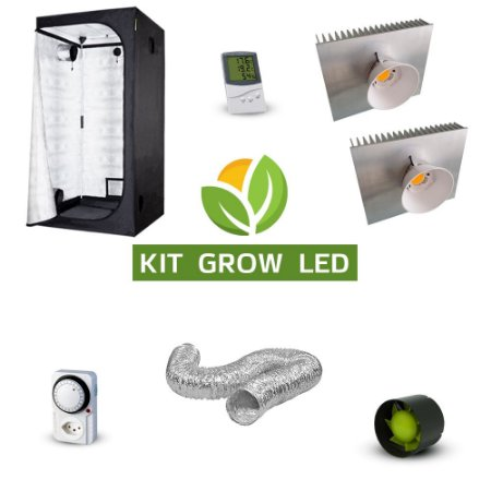 Kit Grow LED COB Cultivo Indoor Completo 14200