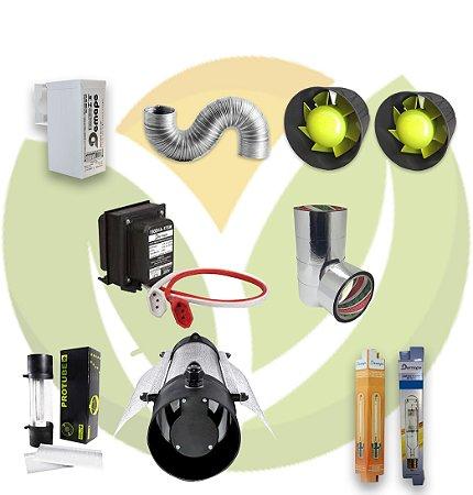 Kit Iluminação Protube Vega e Flora 250W - Completo