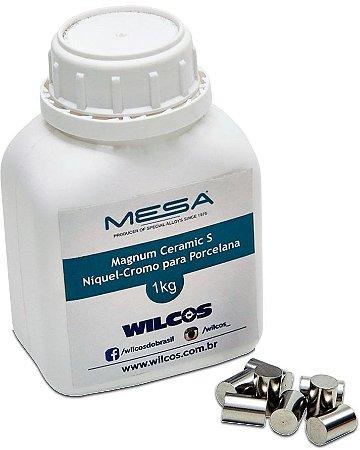Metal Mesa Magnum Ceramic s Niquel Cromo 1kg - Wilcos