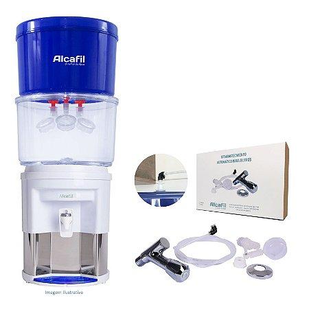 Alcafil Kit Combo Clean Eco 4 - Água Alcalina e Ionizada + Magnésio