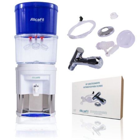 Purificador e Ionizador Clean Eco + Kit abastecimento Automático
