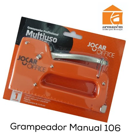 Grampeador Manual Multiuso Jocar Office