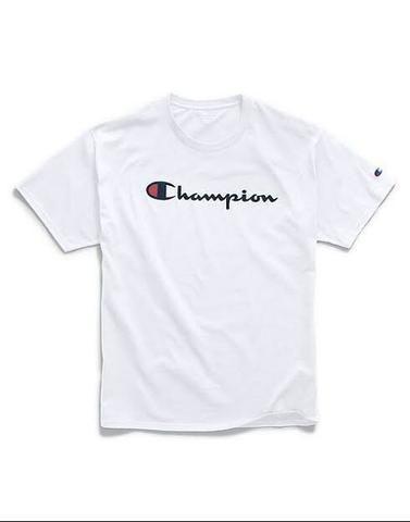 CAMISETA CHAMPION - BRANCA