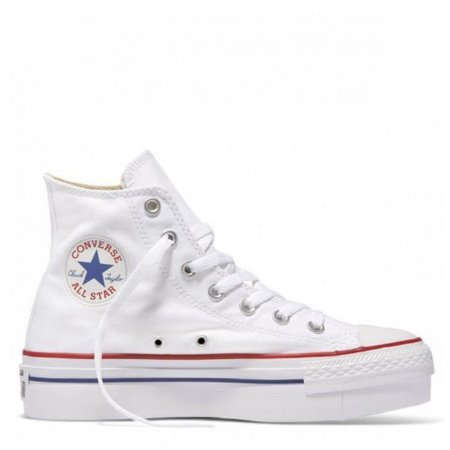 ALL STAR CANO ALTO PLATAFORMA  - BRANCO