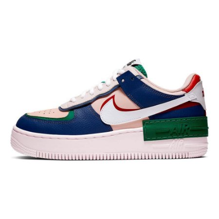 TÊNIS NIKE AIR FORCE SHADOW - COLORS COURO
