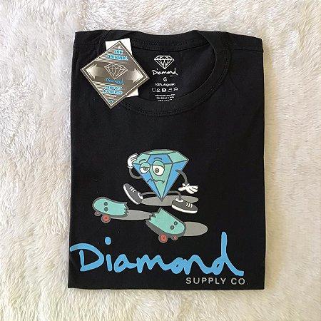 CAMISETA DIAMOND - PRETA
