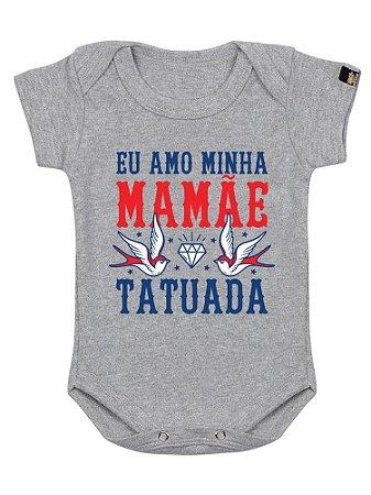 Body Bebê Mamãe Tatuada Mescla