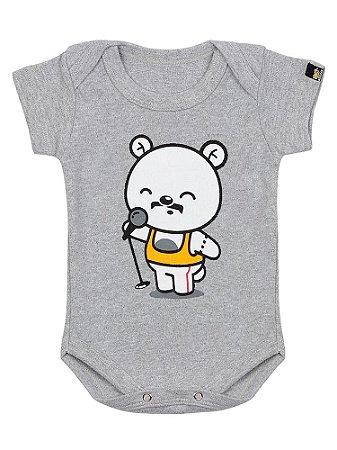 Body Bebê Teddy Mercury Queen Mescla