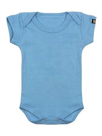 Body Bebê Básico Azul Náutico