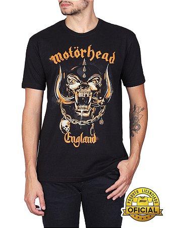Camiseta MotorHead England Preta