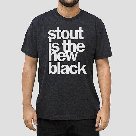 Camiseta Cerveja Stout Preta Jaguar.