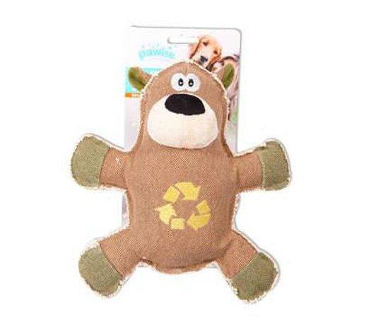 Brinquedo Ecológico Para Cachorro Urso