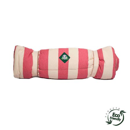 Colchonete Ecológico Para Cachorro - Rosa Chiclete