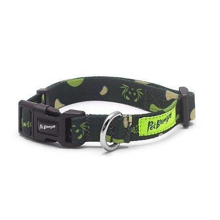 Coleira Para Cachorro PetBamboo - Verde
