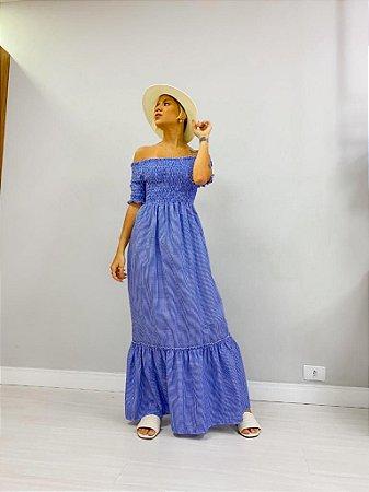 Vestido Manguinha Lastex Xadrez Cores