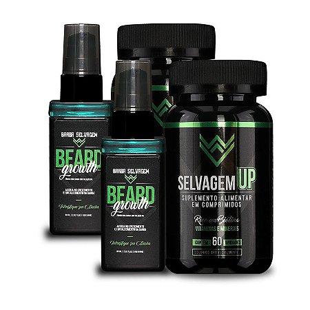 2 Beard Growth 2 SelvagemUP Barba Selvagem