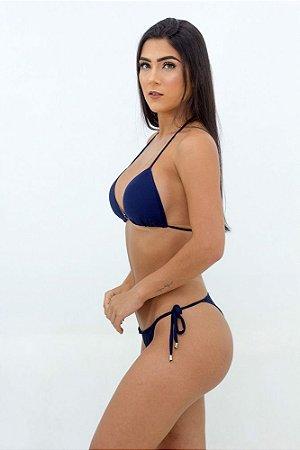 Biquíni Azul Looaa Basic Azul Marinho