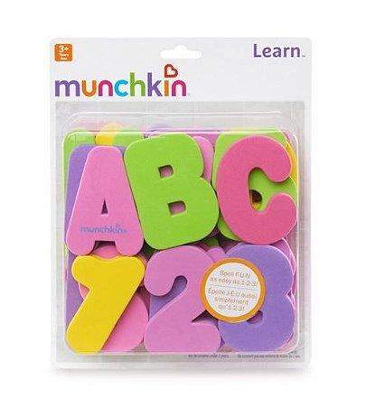 Letras e Números - Munchkin Cores Pastéis