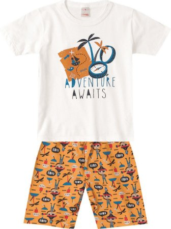 Conjunto Aventureiro - Marisol Kids 2 Peças