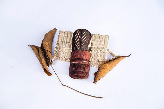 Chaveiro Carranca de Índio