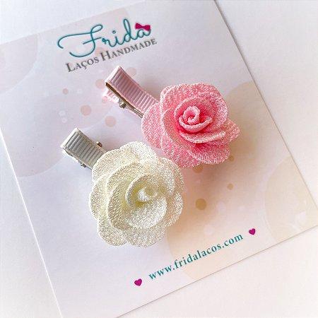 Presilha Flor Pequena (Presilha Antideslizante/Unidade)