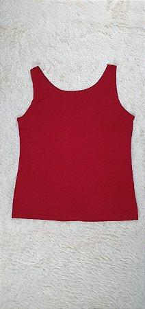 Regata de malha viscolycra( vermelha)