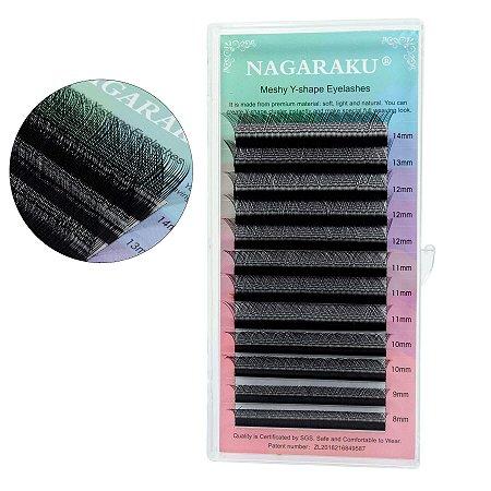 Cílios Nagaraku Y 0,07 D 10mm