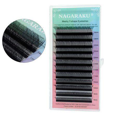 Cílios Nagaraku Y 0,07 D 12mm