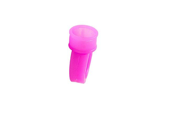 Anel Batoque Plástico Rosa Gr Colors