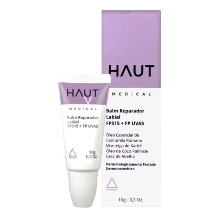 Balm Reparador Labial FPS 15 + FP UVA5 Haut Medical 10gr