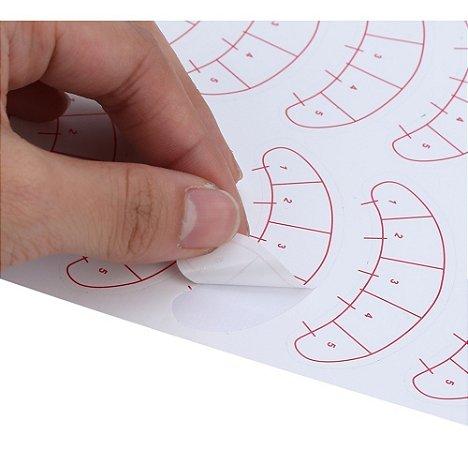 Protetor Adesivo Marcação para Alongamento de Cílios