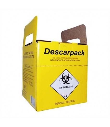 Coletor Perfurocortante 3,0 Litros Descarpack