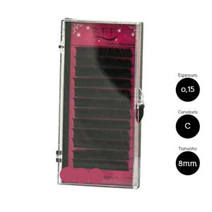 Cílios para Alongamento BFF Seda 0.15 C 8mm