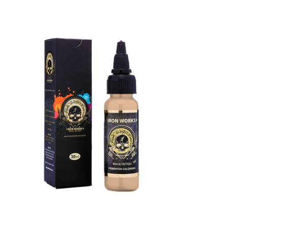 Iron Works Tattoo Pele Claro 30ml